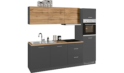 HELD MÖBEL Küchenzeile »Kehl«, mit E - Geräten, Breite 240 cm, wahlweise mit Induktionskochfeld kaufen