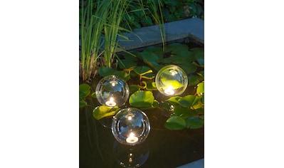 UBBINK Batterie Teichbeleuchtung »MultiBright Float 3 LED«, 3er - Set kaufen