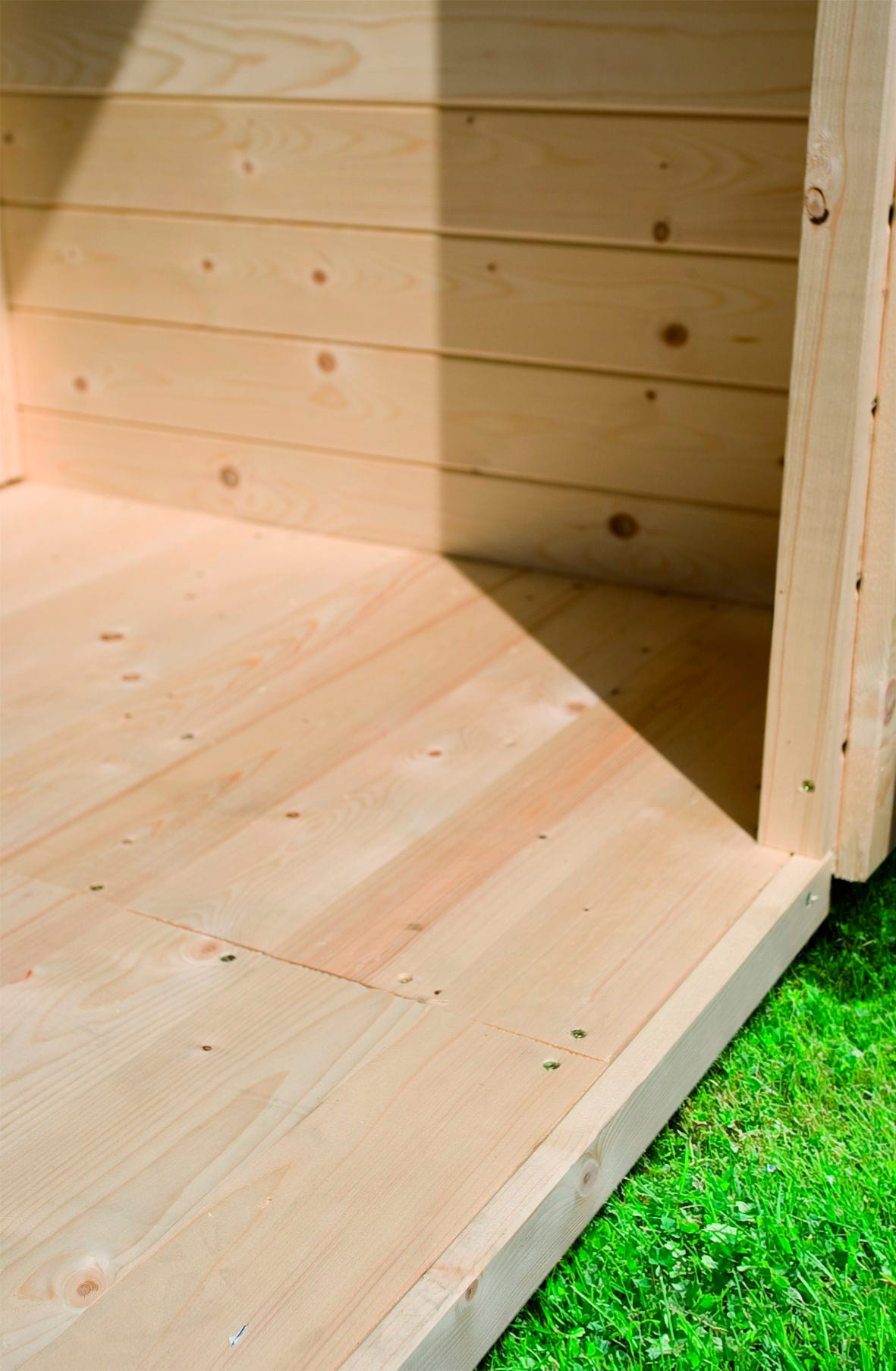 KARIBU Fußboden für Gartenhäuser »(BxT: 181 x 355 cm)«   Garten > Gartenhäuser   Natur   Naturbelassen - Holz   KARIBU