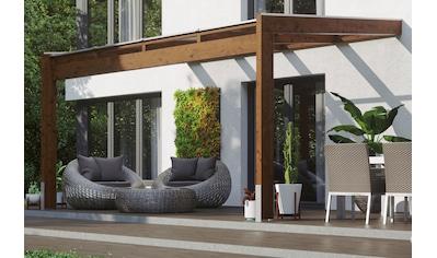 SKANHOLZ Terrassendach »Novara«, BxT: 450x309 cm, versch. Farben kaufen