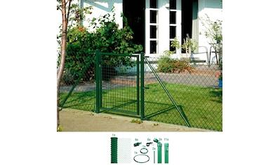 GAH Alberts Maschendrahtzaun, 80 cm hoch, 25 m, grün beschichtet, zum Einbetonieren kaufen