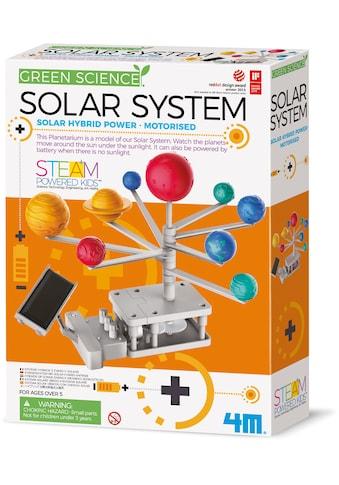 4M Experimentierkasten »Green Science - Sonnensystem mit Solar-Hybrid-Antrieb« kaufen