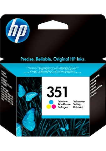HP »hp 351 Original Cyan, Magenta, Gelb« Tintenpatrone (1 - tlg.) kaufen