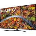 "LG LCD-LED Fernseher »70UP81009LA«, 177 cm/70 "", 4K Ultra HD, Smart-TV, LG Local Contrast-Sprachassistenten-HDR10 Pro-LG ThinQ-inkl. Magic-Remote Fernbedienung"