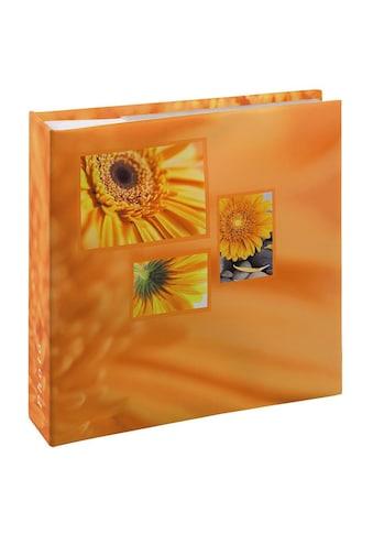 """Hama Fotoalbum »Fotoalbum """"Singo""""«, für 200 Fotos im Format 10x15 cm, Orange kaufen"""