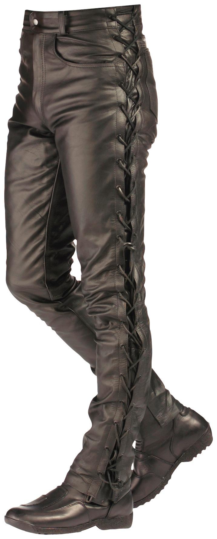 ROLEFF Motorradhose »RO 3«   Bekleidung > Hosen > Sonstige Hosen   Schwarz   Leder   ROLEFF