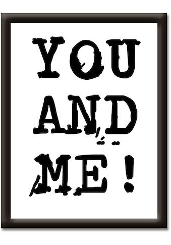 Artland Wandbild »Du & Ich« kaufen