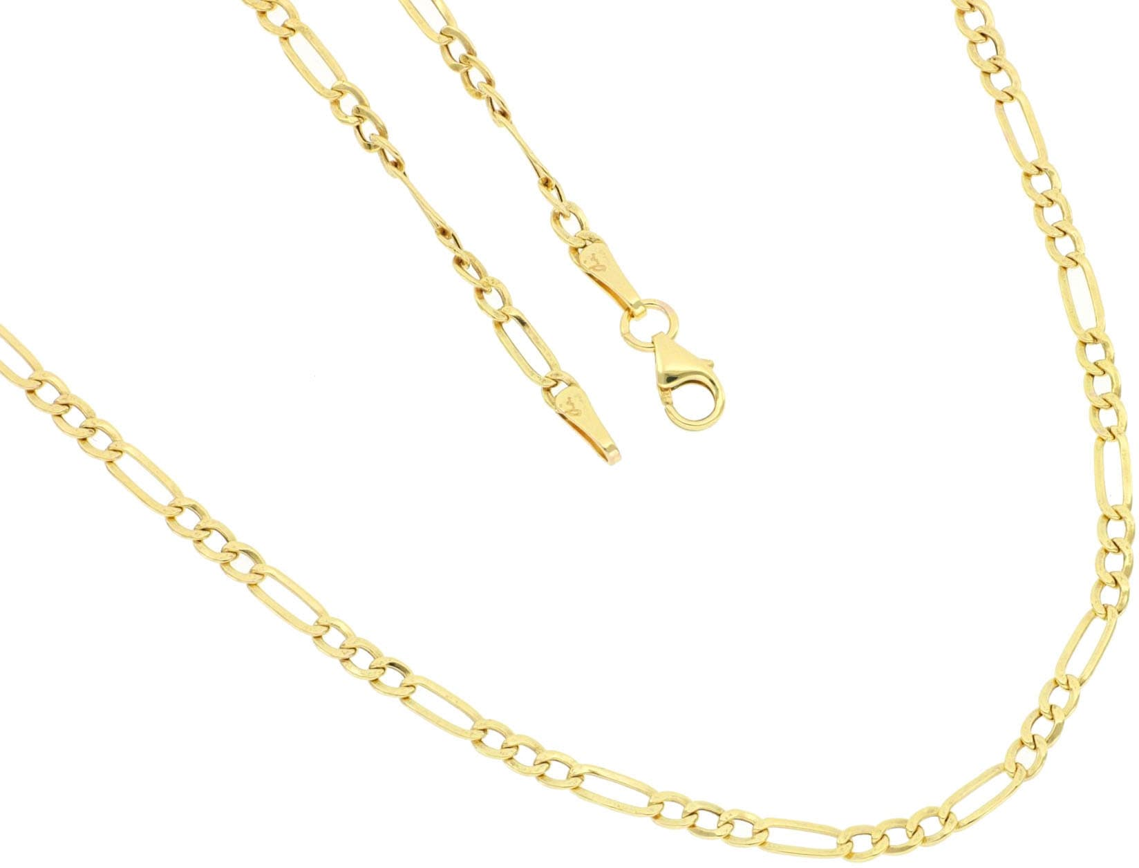 Firetti Goldkette »in Figarokettengliederung, 2-fach diamantiert, poliert, ca. 2,5 mm breit«   Schmuck > Halsketten > Goldketten   Firetti