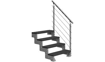 DOLLE Außentreppe »Gardentop«, für Geschosshöhen bis 88 cm, TRIMAX® - Stufen 80 cm kaufen