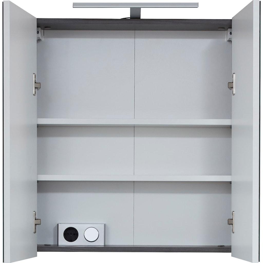 trendteam Spiegelschrank »Skin«, Breite 60 cm, wahlweise mit oder ohne LED-Beleuchtung
