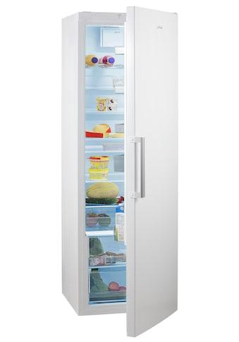 GORENJE Vollraumkühlschrank, R6192FW, 185 cm hoch, 60 cm breit, 185 cm hoch, FreshZone-Schublade, Großraum! kaufen