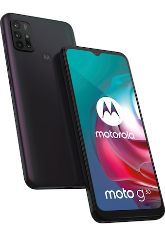 "Motorola Smartphone »moto g30«, (16,51 cm/6,5 "", 128 GB Speicherplatz, 64 MP Kamera) kaufen"