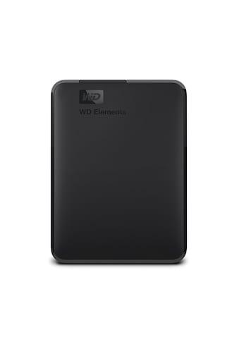 WD Elements ext portable 4TB Festplatte »Tragbare Externe Festplatte« kaufen
