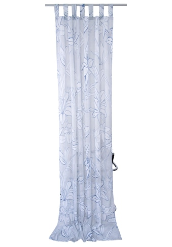Vorhang, »BLUE FLOWERS«, TOM TAILOR, Schlaufen 1 Stück kaufen
