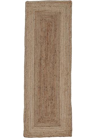 carpetfine Läufer »Nele«, rechteckig, 6 mm Höhe, Wendeteppich 100% Jute kaufen