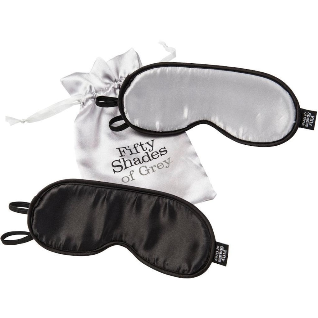 Fifty Shades of Grey Augenbinde »No Peeking«, (Set, 2 tlg.)
