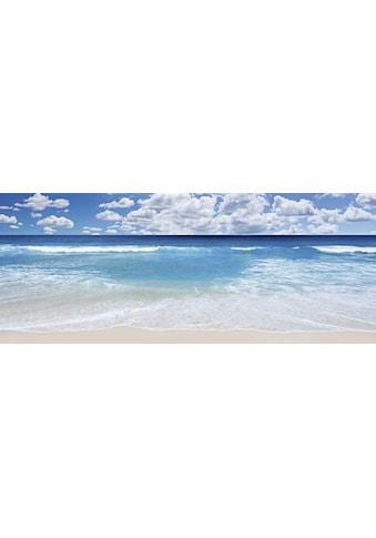 Home affaire Glasbild »Strand und Meer« kaufen
