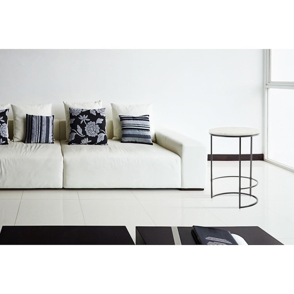 Kayoom Beistelltisch »Beistelltisch Louis 225«, Marmor-Tischplatte