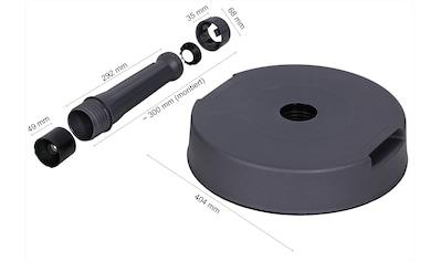 SCHNEIDER SCHIRME Schirmhalter »Beton - Ständer«, für Stöcke 25  -  32 mm Ø kaufen