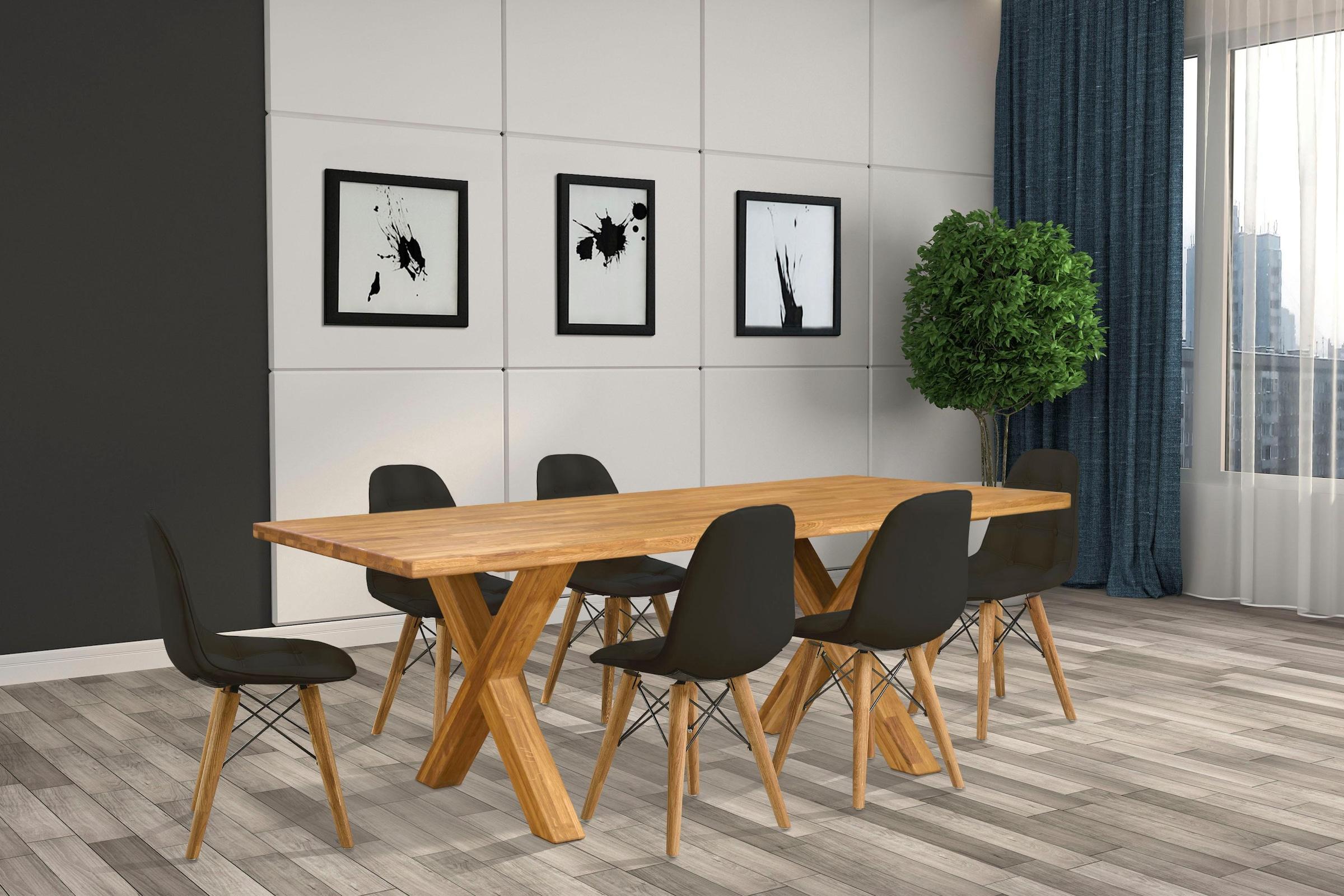 Esszimmer Steinoptik Grau 17 Tisch Tischgruppe Möbel Marten BordCxeW