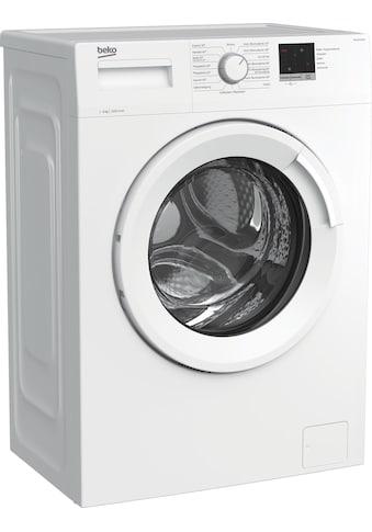 BEKO Waschmaschine »WML61023NR1«, WML61023NR1, 6 kg, 1000 U/min kaufen