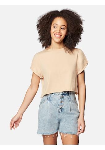 Mavi T-Shirt »T-Shirt SHORT SLEEVE«, in verkürzter Cropped Länge kaufen