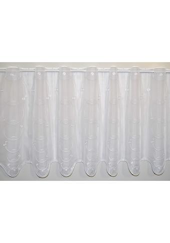 Stickereien Plauen Scheibengardine »Punta« kaufen