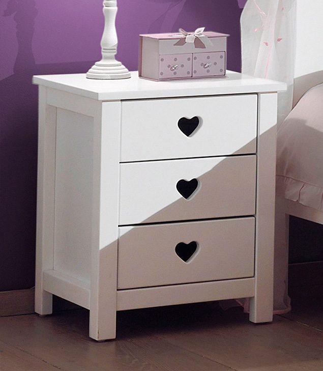 Vipack Furniture Nachttisch »Amori«   Schlafzimmer > Nachttische   Weiß   Mdf   VIPACK FURNITURE