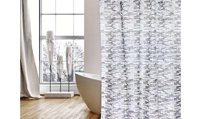MSV Duschvorhang »Briques«, Breite 180 cm, Höhe 200 cm kaufen