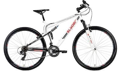 KS Cycling Mountainbike »Slyder«, 21 Gang Shimano Tourney Schaltwerk, Kettenschaltung kaufen