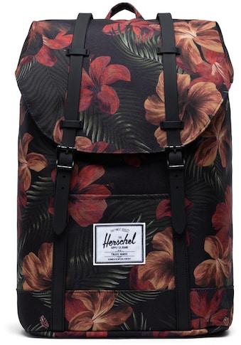 Herschel Laptoprucksack »Retreat  -  Tropical Hibiscus« kaufen