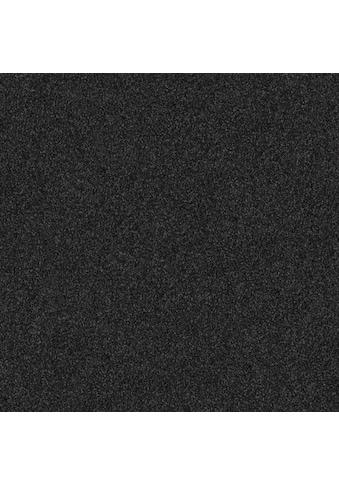 Teppichfliese »Amalfi«, quadratisch, 8 mm Höhe, schwarz, selbstliegend kaufen