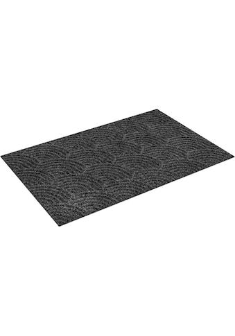 wash+dry by Kleen-Tex Teppich »Waves«, rechteckig, 8 mm Höhe, In- und Outdoor... kaufen