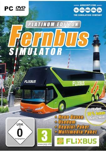 aerosoft Spiel »Der Fernbus Simulator Platinum«, PC kaufen