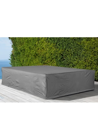 KONIFERA Gartenmöbel-Schutzhülle »Keros Premium«, für ein Loungeset, (L/B/H): ca. 223x223x75 cm kaufen