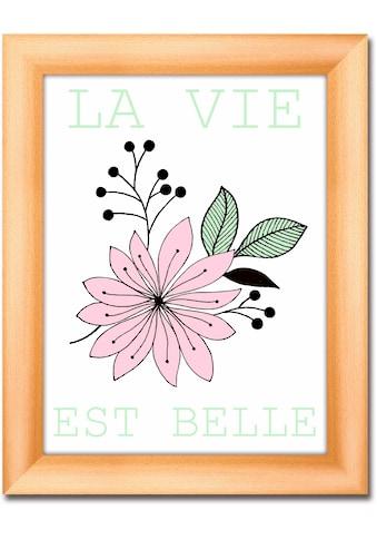 Artland Wandbild »Das Leben ist schön« kaufen