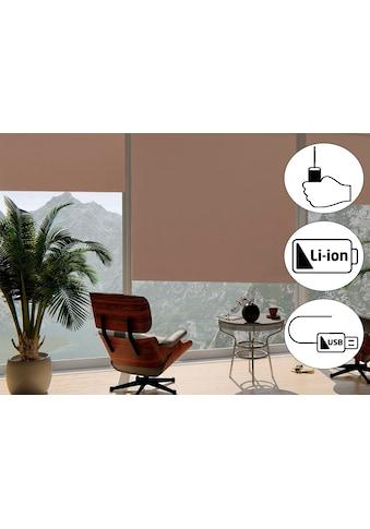 Seitenzugrollo »Classic Style Akku - Rollo«, sunlines, verdunkelnd, freihängend kaufen