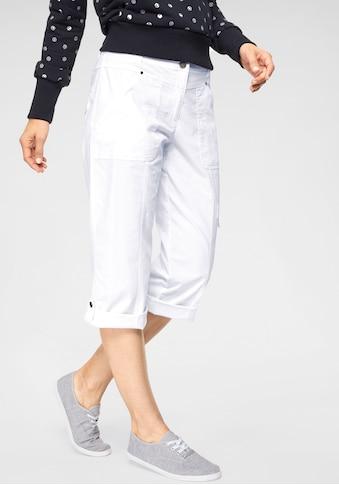NAVIGAZIONE Caprihose »Claudia«, mit vielen Taschen, krempelbar kaufen