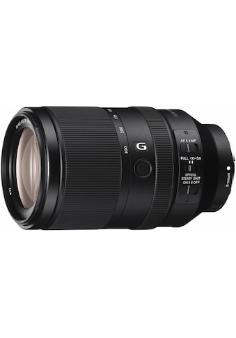 Sony Objektiv »SEL-70300G E-Mount Telezoom«, E 70-300mm F4.5-5.6, OSS, APS-C kaufen