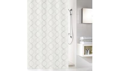 Kleine Wolke Duschvorhang »Classy«, Breite 120 cm, (1 tlg.), weiß kaufen