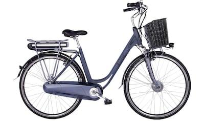 LLobe E-Bike »Black Motion 2.0, 13,2Ah«, 7 Gang, Shimano, Frontmotor 250 W, (mit... kaufen