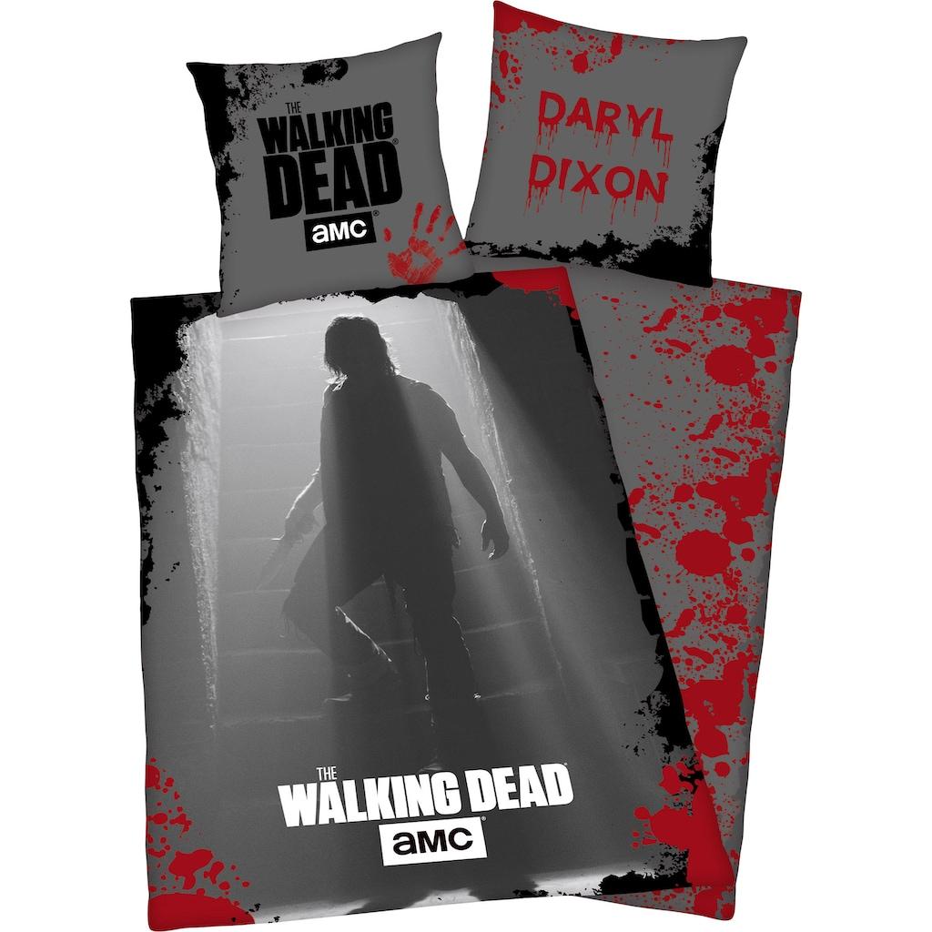 Wendebettwäsche »The Walking Dead«, mit tollem Motiv