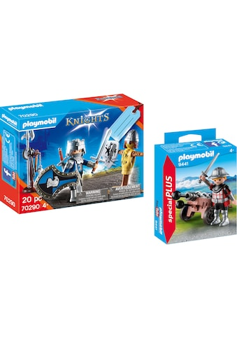 Playmobil® Konstruktions-Spielset »Ritter mit Kanone (9441), Special Plus und Geschenkset Ritter (70290), Knights«, (Set, 2 St.), Made in Europe kaufen
