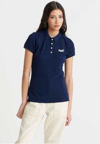 Superdry Poloshirt »SCRIPTED POLO TEE«, mit dezenter Logostickerei kaufen
