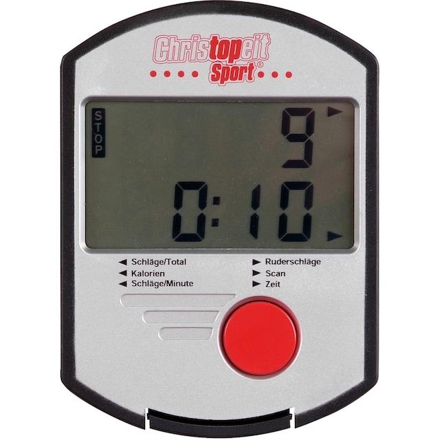 Christopeit Sport® Rudergerät »Cambridge II Black Edition«