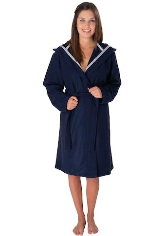 Wewo fashion Unisex-Bademantel »3900«, (1 St., mit Gürtel), mit Soft Touch kaufen