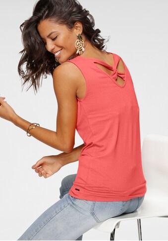 Laura Scott Tanktop, mit Knotendetail am Rücken kaufen