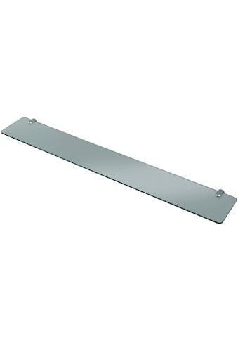 WELLTIME Wandablage »Glasregal/ Glasablage«, Breite 80 cm kaufen