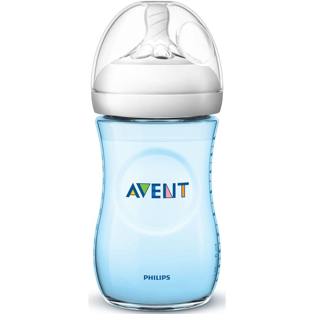 Philips AVENT Babyflasche »Natural Flasche SCF035/27«, (5 tlg., 2er-Pack), Anti-Kolik-System