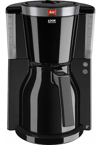 Melitta Filterkaffeemaschine »Look® Therm Selection 1011-12«, Papierfilter, 1x4,... kaufen